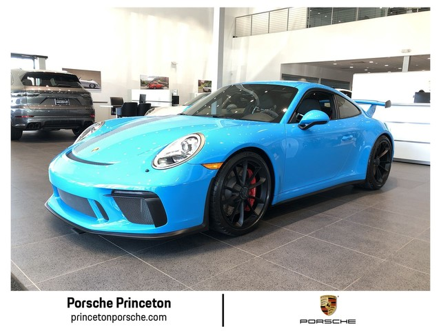 Certified Pre-Owned 2018 Porsche 911 GT3 PTS Mexico Blue
