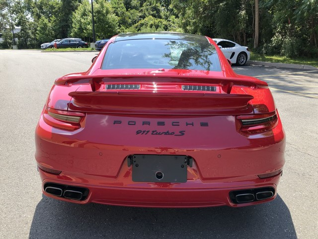 Certified Pre-Owned 2017 Porsche 911 Turbo S Coupe
