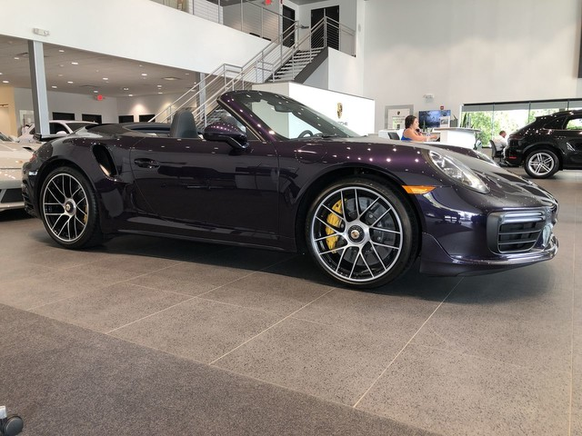 New 2019 Porsche 911 PTS Turbo S Cabriolet